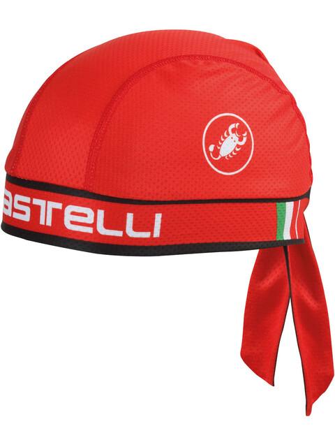 Castelli Bandana red